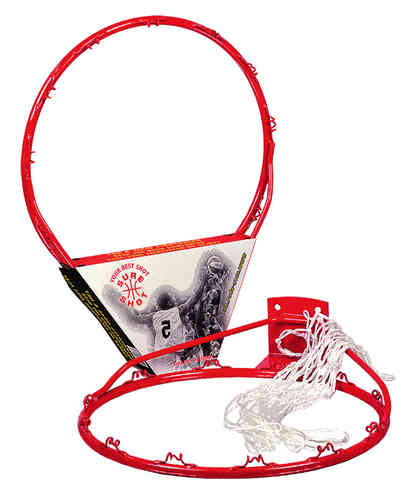 Entry Level Basketball Ring and Net