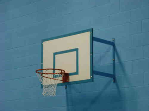 Fixed Projection Basketball Goal