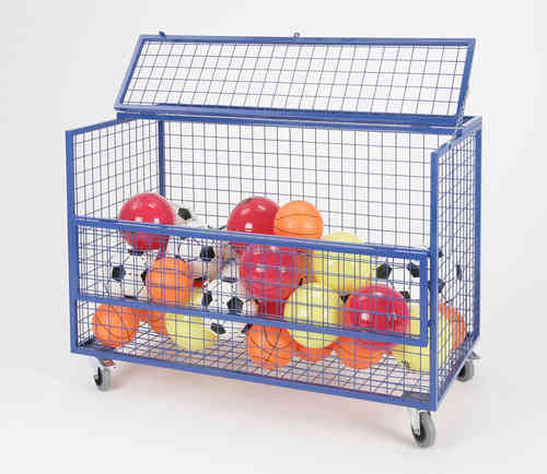 Mesh Storage Trolley