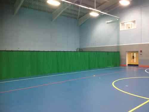 Sports Hall Divider Track Systems