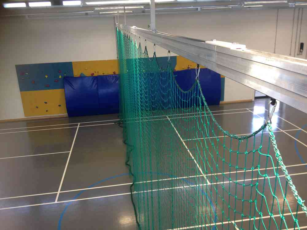 Beautiful Sports Hall Divider Track Systems