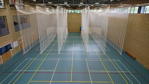 Sports Hall Cricket Nets