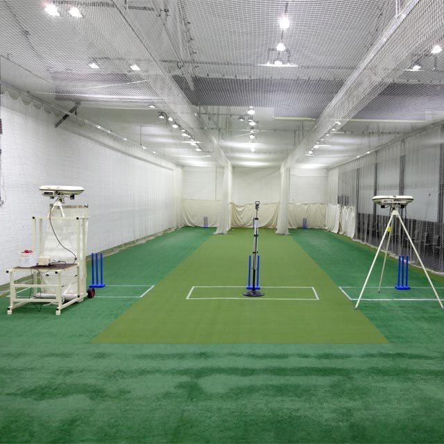 Sports netting and cricket nets experts cricket centre for Indoor cricket net design
